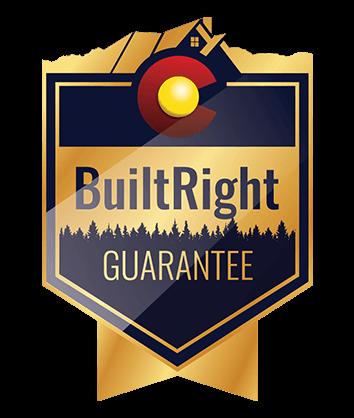 built right guarantee badge